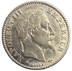 10 Francs Or Napoleon III Head Laurée 1867 A, Gold Coin