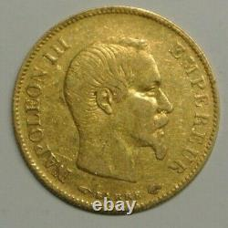 10 Francs Or Type Napoleon III Tete Nnue 1858 At A Low Price
