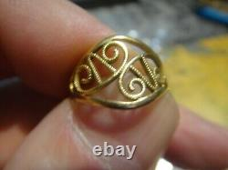 18-carat Gold Eagle Head Ring To Wear Or Melt Plus 350 On Purchase