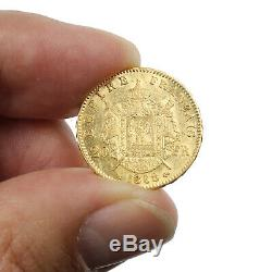 Piece Gold France 20 Francs Or Napoleon III Laureate Head 1868 Bb Gold Coin