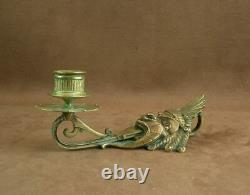 Rare A Great Erssts Of Cave In Bronze The Fantastic World Diable 19th
