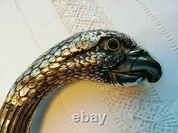 Superb Old Cane, Silver Parrot Head, Many Punches